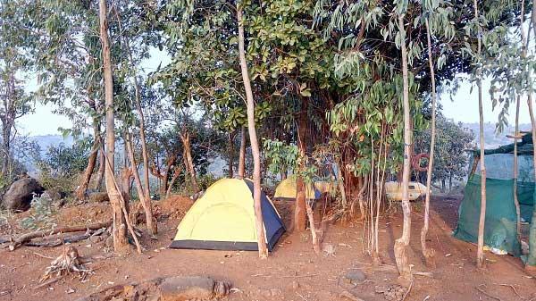 Couple tent
