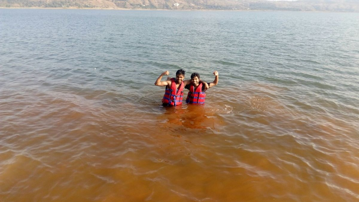 enjoy swimming in the lake