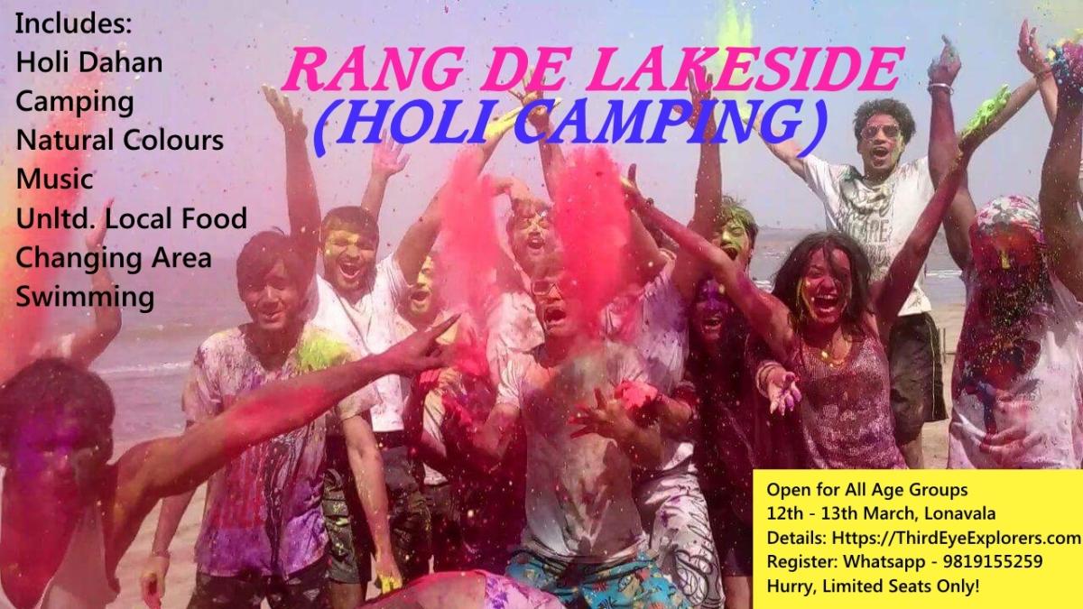 Holi lakeside camping