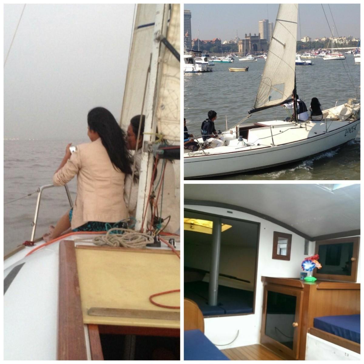 Cabin Sailing Yacht