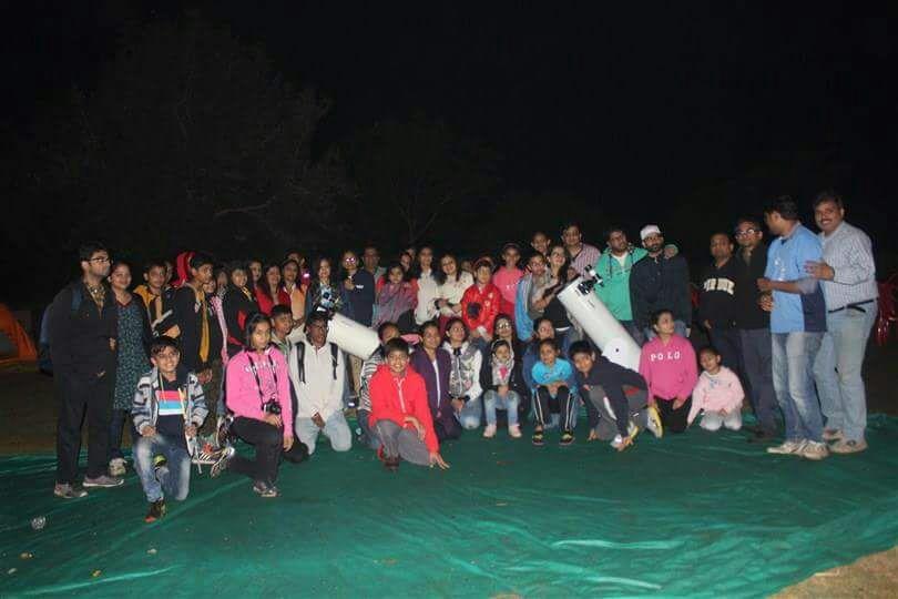 astro camping participants