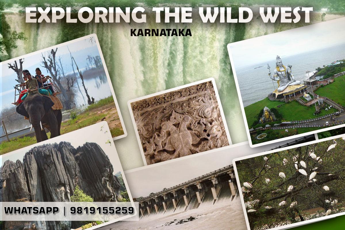 West Karnataka Nature tour Jog falls Murudeshwar Yana Mandagadde bird sanctuary Gajannur Dam Rameshwaram