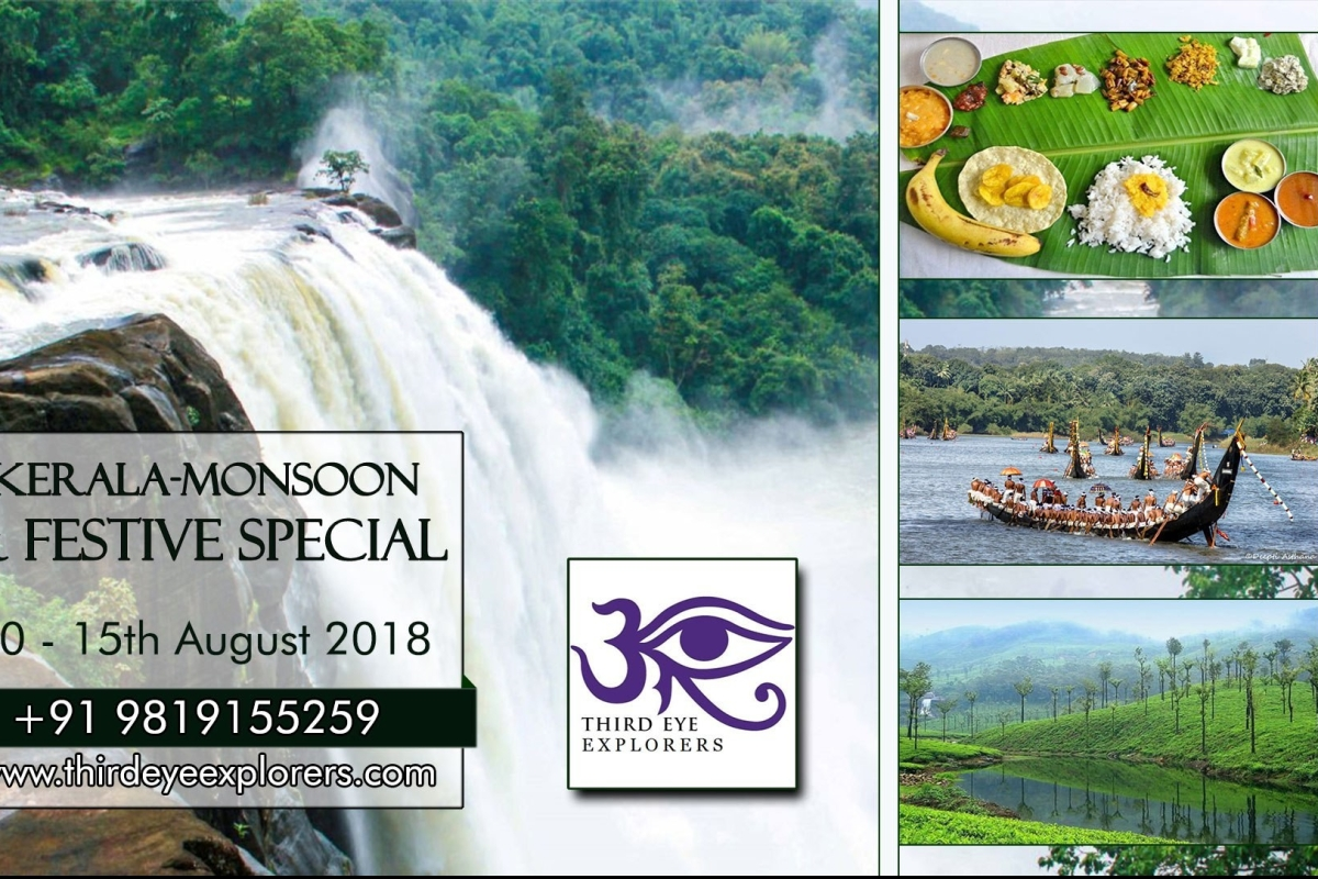 Kerala monsoon festive spl tour