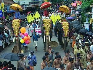 Tripunithura Athachamayam Festival in Kerala